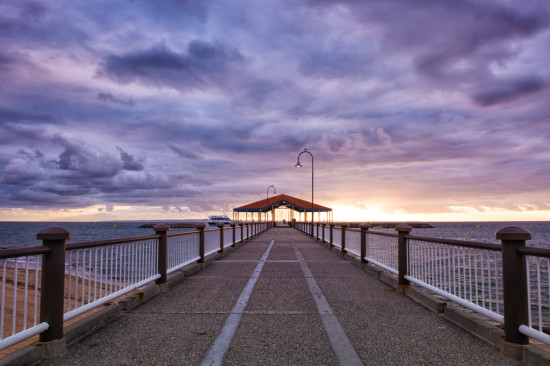 Redcliffe Jetty by Morning