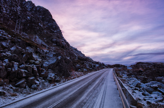 The Road to Henningsvær
