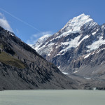 Mount Cook and the Hooker Glacier