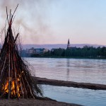 Bonfire on the Kemijoki