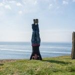 Handstand in Orkney
