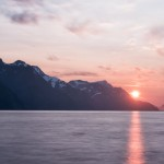 Midnight Sun Progression - Lyngenfjord - 1am