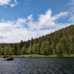 Rafting the Ivalojoki