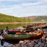 Fishing Boats in Utsjoki