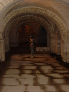 Inside Winchester Cathedral