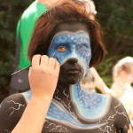 Photo Essay: Facepainting at the Body Art Carnivale