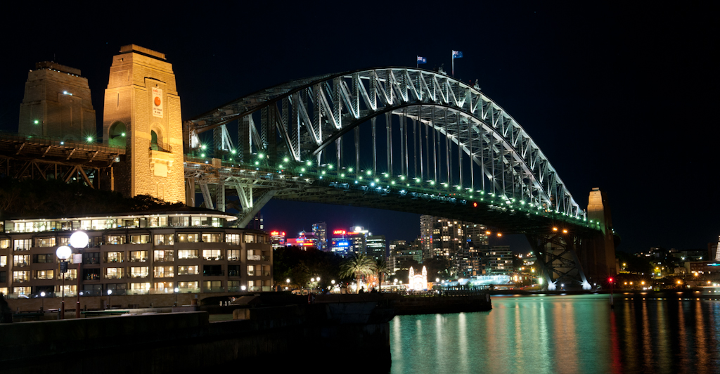 Photo Of The Week The Sydney Harbour Bridge At Night A