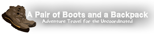 A Pair of Boots and a Backpack