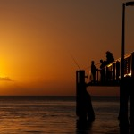 Photo of the Week: A Fisherman's Sunset on Stradbroke Island