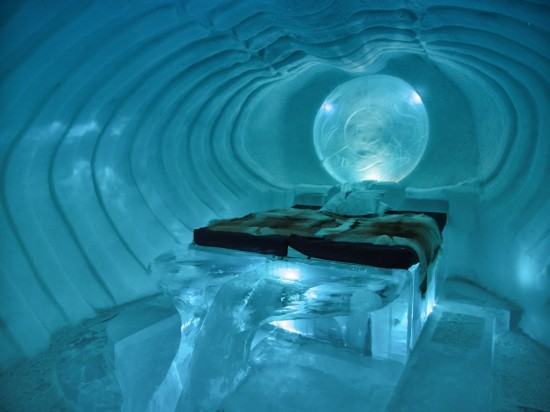 Blue Marine Suite at the IceHotel