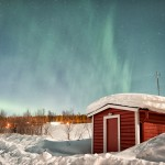 The Northern Lights Light Up the Sky