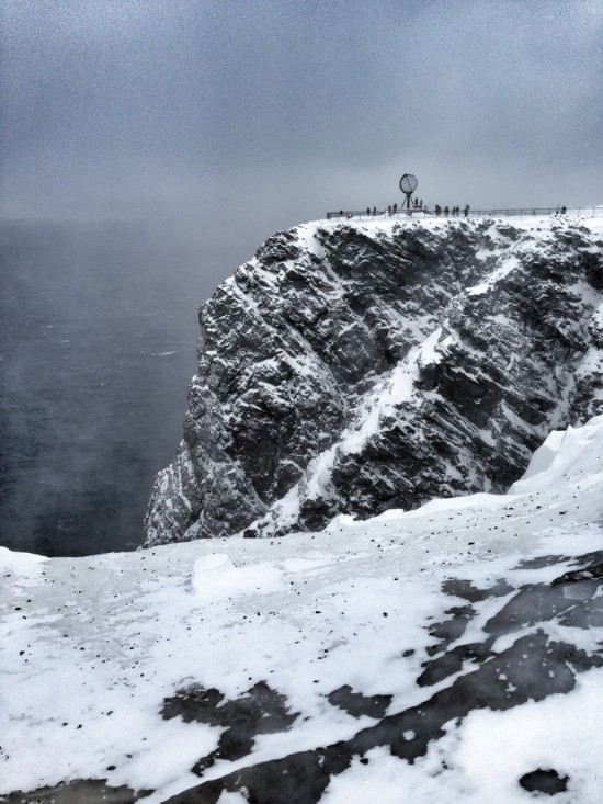 The End of the World at Nordkapp