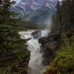 Athabasca Falls from the Bridge