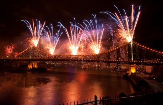 The Colours of Riverfire 2010