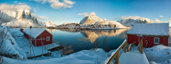 The Rorbuer of Reine
