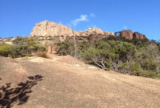 The Pink Granite of Mount Amos
