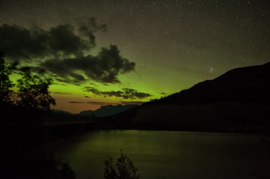 Northern Lights Over Jasper