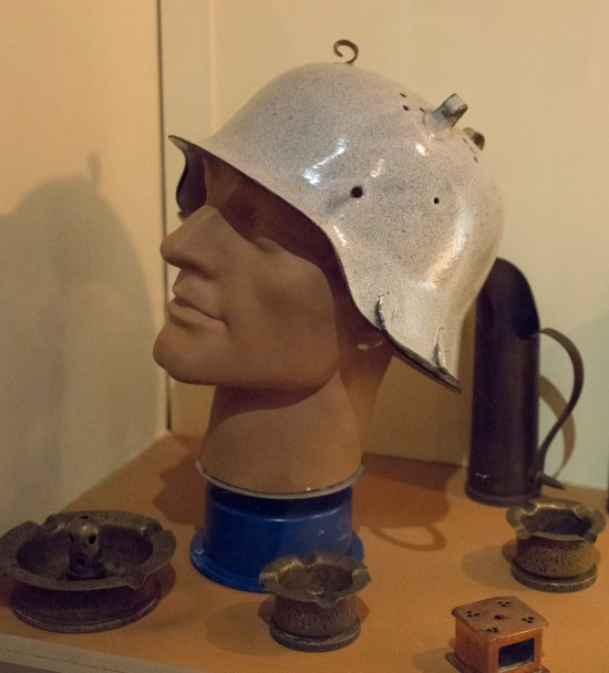 German Colander Helmet