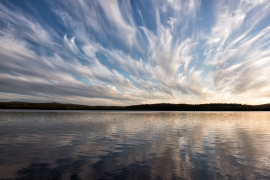 Reflections of Watercolour Clouds