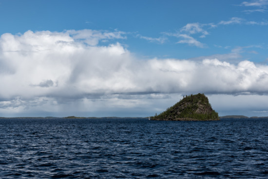 Ukko Island From Afar